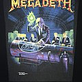 Megadeth - Patch - Megadeth - Rust in Peace - Back Patch 1990