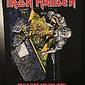 Iron Maiden - No Prayer for the Dying - Vintage Back Patch 1990