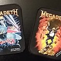 Megadeth - Vintage Printed Patches - 1990