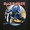 Iron Maiden - Patch - Iron Maiden - A Real Live One - Back Patch 1993 (White Version)