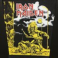 Iron Maiden - Patch - Iron Maiden - Sanctuary - Back Patch (Long - Yellow - version)