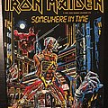 Iron Maiden - Somewhere in Time - Original Back Patch 1986