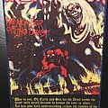 Iron Maiden - Patch - Iron Maiden - Number of the Beast - Vintage Back Patch (Version 1)