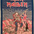 "Iron Maiden - The Trooper ""bubblegum"" vintage patch"
