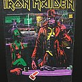 Iron Maiden - Patch - Iron Maiden - Stranger in a Strange Land - Back Patch 1986