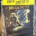 Megadeth - Patch - Megadeth - Mary Jane - Back Patch 1988 (Sealed)