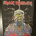 Iron Maiden - Patch - Iron Maiden - Powerslave Back Patch (Version 3 - Red Version)