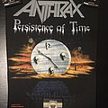 Anthrax - Patch - Anthrax - Persistence of Time - Back Patch 1990