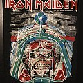 Iron Maiden - Aces High - Vintage Back Patch 1984