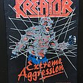 Kreator - Patch - Kreator - Extreme Aggression - Back Patch 1990