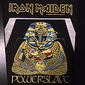 Iron Maiden - Patch - Iron Maiden - Powerslave - Back Patch 1984 (White Coffin - Yellow version)