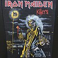 Iron Maiden - Killers - Back Patch 1981 (Bright Light Version)