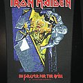 Iron Maiden - Patch - Iron Maiden - No Prayer for the Dying - Back Patch 1990 (Purple version)