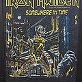 Iron Maiden - Patch - Iron Maiden - Somewhere in Time - Back Patch 1986 ('dark version')