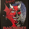 Iron Maiden - Purgatory/Live after Death - Double-sided vintage back patch 1981/1985 (Very Rare)