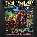 Iron Maiden - Patch - Iron Maiden - Stranger in a Strange Land - Back Patch 1986 (Comic Version)