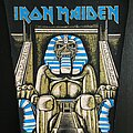 Iron Maiden - Patch - Iron Maiden - Powerslave -  Back Patch (version 4)