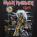 Iron Maiden - Patch - Iron Maiden - Killers - Back Patch 1981 (Version 8 - Bright Light nr.4)