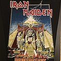 Iron Maiden - Powerslave - Vintage Back Patch (Version 1)