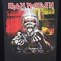 Iron Maiden - Patch - Iron Maiden - A Real Dead One - Back Patch 1993