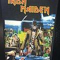 Iron Maiden - Stranger in Strange Land - Bootleg Back Patch (version 1)