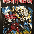 Iron Maiden - The Number of the Beast - Vintage Back Patch 1982
