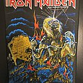 Iron Maiden - Patch - Iron Maiden - Live after Death - Back Patch 1985 (Yellow Version - Upper...