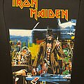 Iron Maiden - Patch - Iron Maiden - Stranger in a Strange Land Back Patch (Bootleg - Version 2)