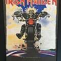 Iron Maiden - Patch - Iron Maiden - Don't Walk - Back Patch 1989