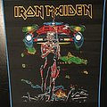 Iron Maiden - Somewhere on Tour - Blue Border Back Patch