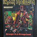 Iron Maiden - Patch - Iron Maiden - Stranger in a Strange Land - Back Patch 1986 (Comic Version 2)