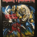Iron Maiden - Patch - Iron Maiden - The Number of the Beast - Vintage Back Patch 1982 (nr. 2)