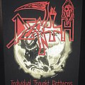 Death - Patch - Death - Individual Thought Patterns - Back Patch 1993 (Earth Version)