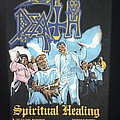 Death - Spiritual Healing - Back Patch 1990