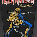 Iron Maiden - Piece of Mind - Vintage 80's Back Patch