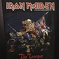 Iron Maiden - Patch - Iron Maiden - The Trooper 1983 (Version 1 - Yellow Version)