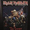 Iron Maiden - Patch - Iron Maiden - The Trooper 1983 (Version 1 - Yellow Version)