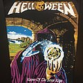 Helloween - Patch - Helloween - Keeper of the Seven Keys - Back Patch (version 1)