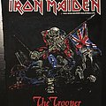 Iron Maiden - The Trooper - Vintage Back Patch 1983 (2nd version)