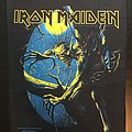 Iron Maiden - Patch - Iron Maiden - Fear of the Dark - Back Patch 1992 (Yellow Version)