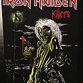 Iron Maiden - Patch - Iron Maiden - Killers - Back Patch 1981 (Version 2 - Foggy Light nr.1)