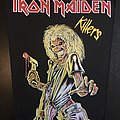 Iron Maiden - Patch - Iron Maiden - Killers - Back Patch (Bootleg Version 2)