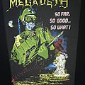 Megadeth - Patch - Megadeth - So Far, So Good...So What! - Back Patch