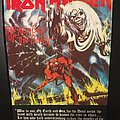 Iron Maiden - Patch - Iron Maiden - Number of the Beast - Vintage Back Patch (Version 3)