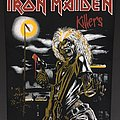 Iron Maiden - Patch - Iron Maiden - Killers - Back Patch 1981 (Version 6 - Bright Light nr.3)