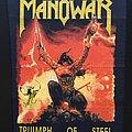 Manowar - Patch - Manowar - Triumph of Steel - Back Patch 1992