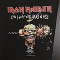 Iron Maiden - Can I Play with Madness - Vintage Back Patch 1988