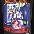 Megadeth - Hangar 18 - Back Patch 1991