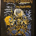 Iron Maiden - Live after Death/Purgatory - Double-sided vintage back patch 1985/1981 (Very Rare)