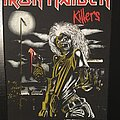 Iron Maiden - Killers - VIntage Back Patch 1981 (3rd Version)